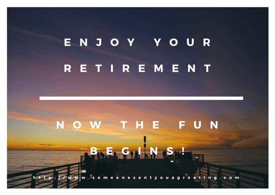 Retirement ecards someone sent you a greeting enjoy your retirement ecard m4hsunfo