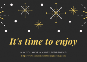 Retirement ecard