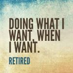 Retirement card quotes for a card