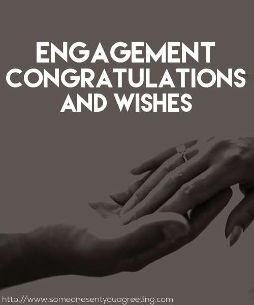Engagement Congratulations and Wishes