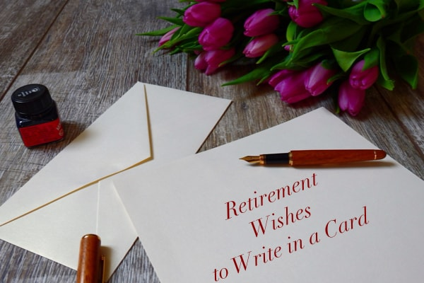Retirement Wishes to Write in a Card