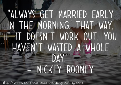 Funny Wedding Quotes and Sayings