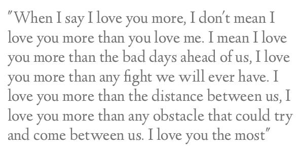 long love sentiment
