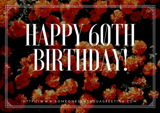 60th Birthday eCards