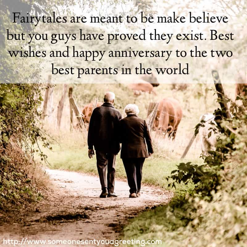 Anniversary Wishes for Parents