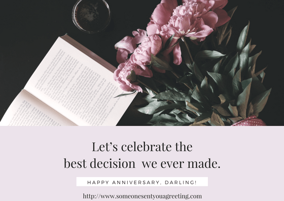 Anniversary ecards for husbands wives and partners someone sent