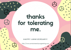 Anniversary eCards for couple