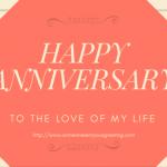 Happy anniversary ecard