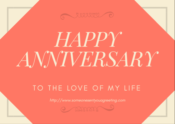 Anniversary eCards for Husbands, Wives and Partners