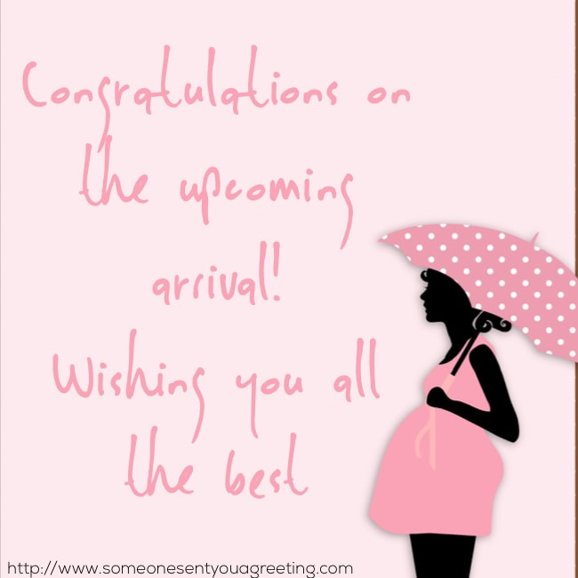 congratulations and wishing you all the best baby quote