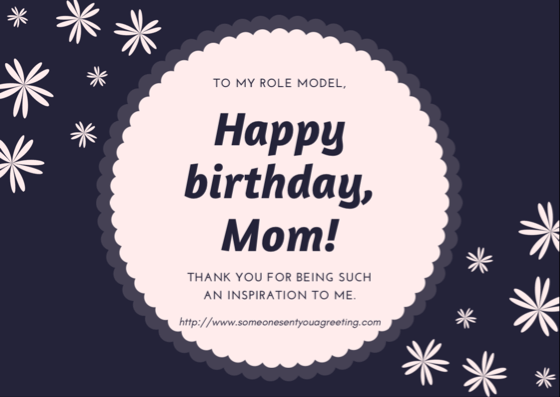 Birthday ECards For Mom