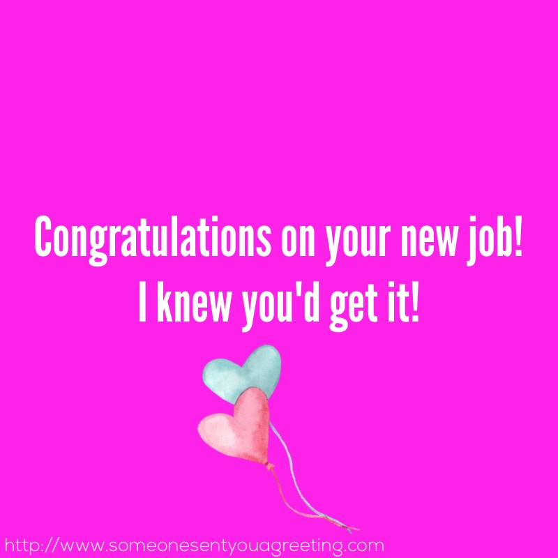 Congratulations Quotes New Job Position: Congratulations On A New Job Messages And Wishes