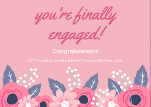 Engagement Congratulations eCard
