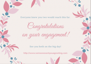 Congratulations Engagement eCard