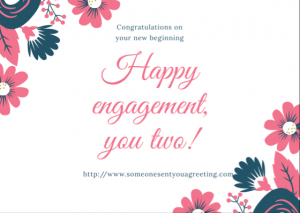 Happy Engagement eCard