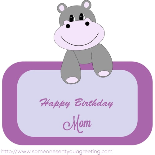 Facebook Birthday Wishes for Mom
