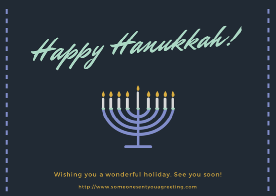 Hanukkah ecards someone sent you a greeting happy hanukkah ecard m4hsunfo