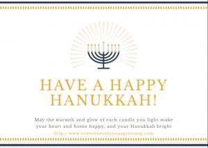 Have a Happy Hanukkah eCard