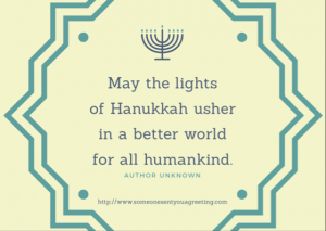 Hanukkah Quote eCard
