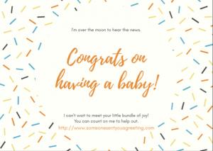 New Baby Congrats eCard