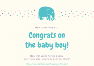 New Baby Boy Congrats eCard