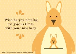 Cute New Baby eCard