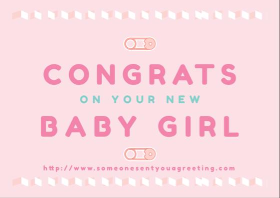 New Baby Congratulations eCards