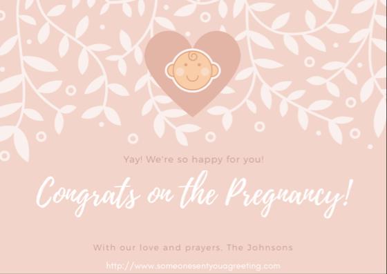 pregnancy congratulations ecards - Pregnancy Congratulations Card