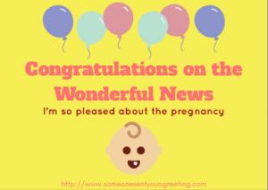 Pregnancy Congratulations eCard