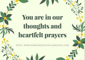 In Our Thoughts eCard