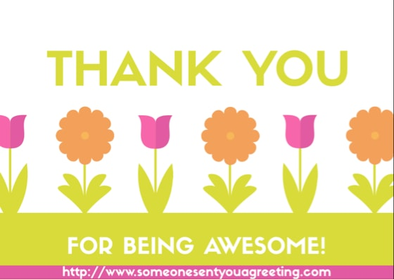 Thank You Card Sayings and Messages