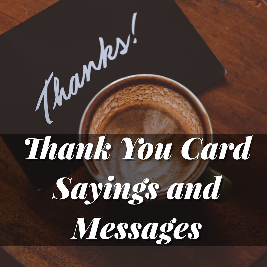 Thank You Card Sayings and Messages – Someone Sent You A ...
