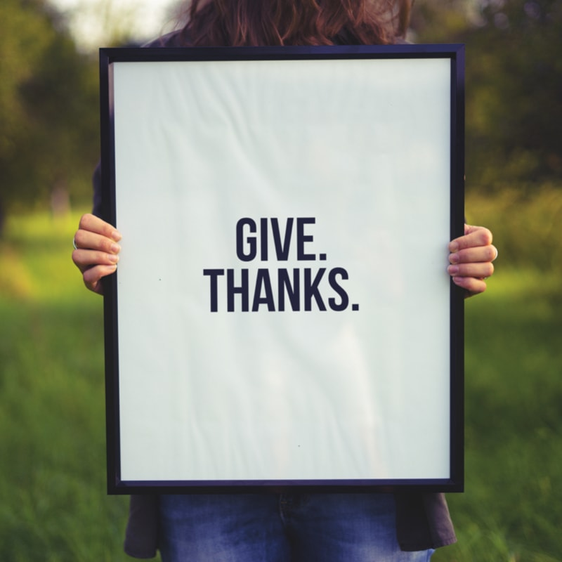 Give Thanks Messages