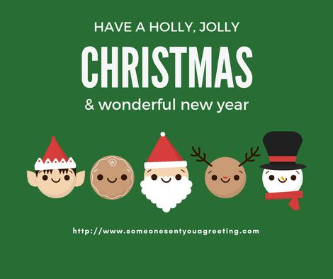 Have a Jolly Christmas eCard