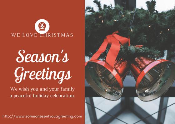 Seasons Greetings Christmas eCard