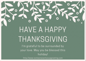 Have a Happy Thanksgiving eCard