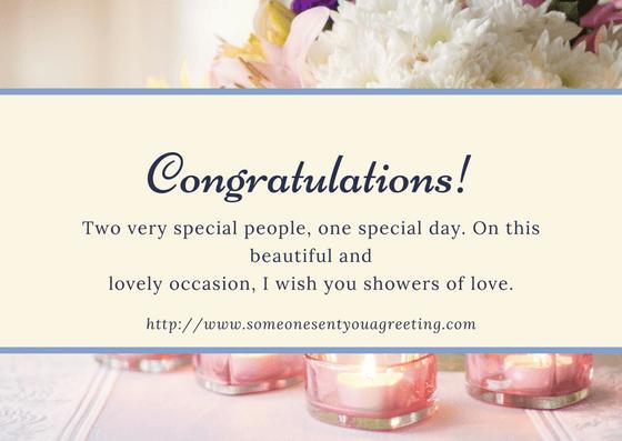wedding congratulations ecards  someone sent you a greeting