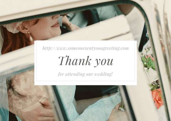 Wedding Thank You eCards