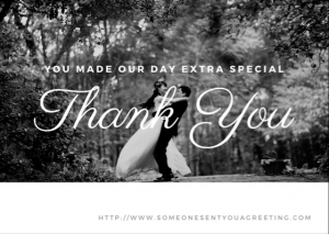 Wedding Thank You eCard