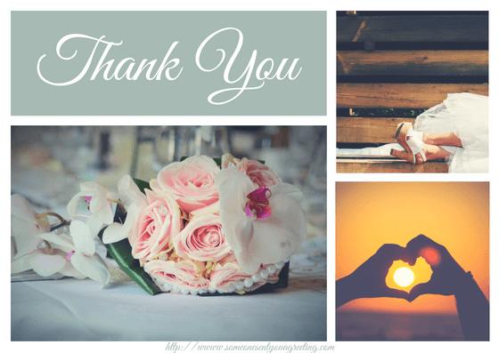 Wedding Love and Thanks eCard