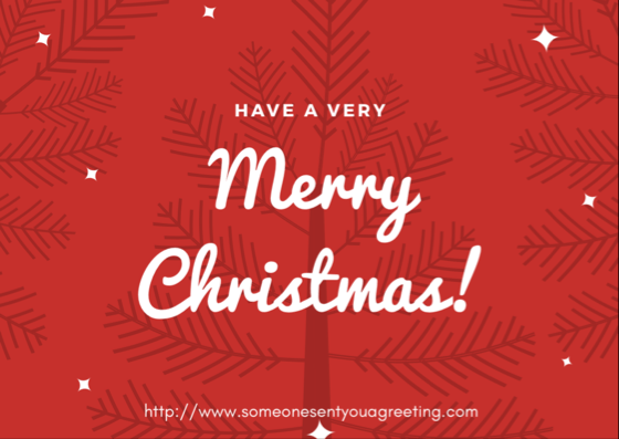 Merry Christmas Card Message