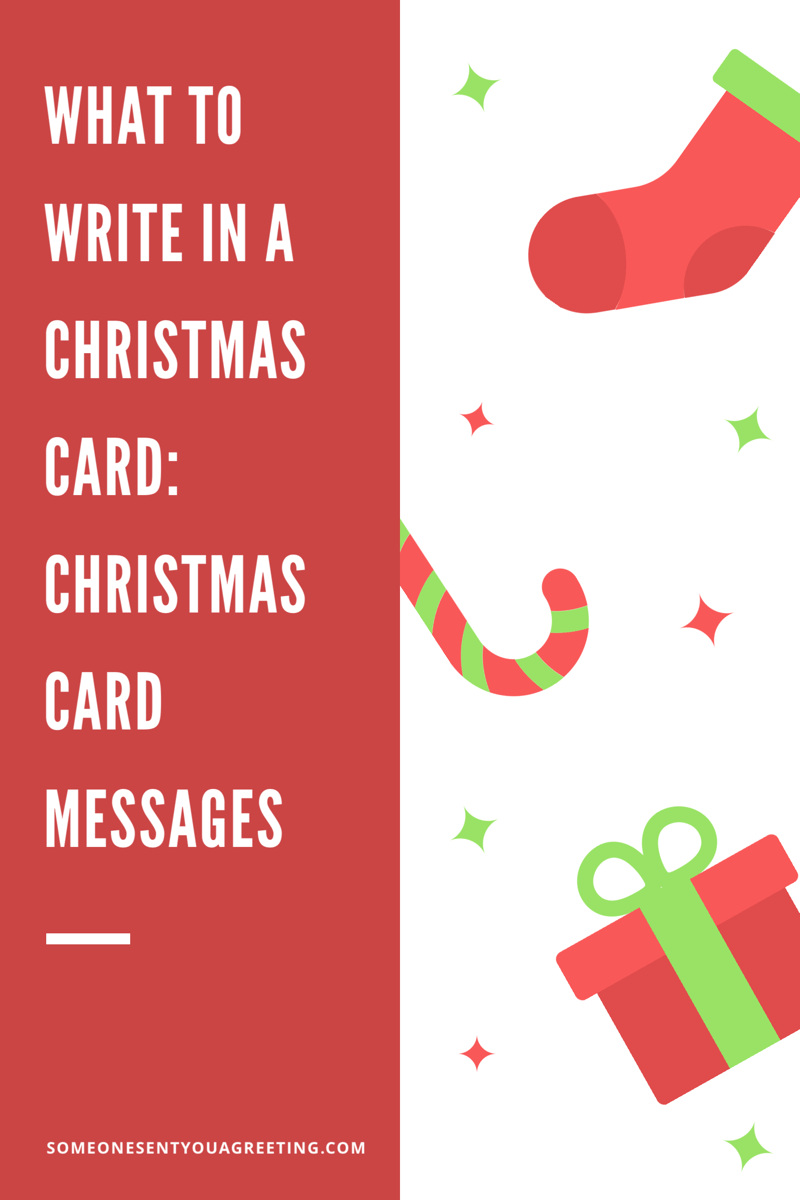 What to Write in a Christmas Card: Christmas Card Messages