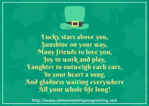 Upbeat Irish Blessing