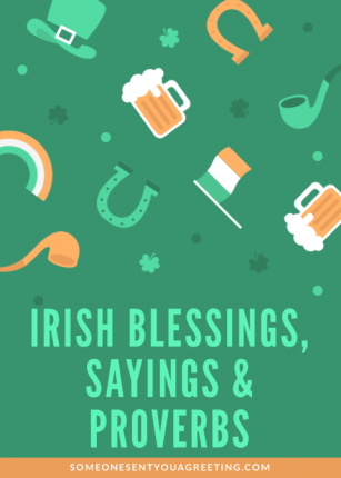 Irish Blessings Sayings and Proverbs