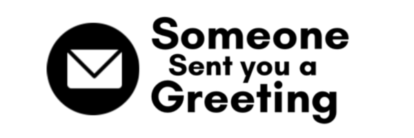 Someone Sent You A Greeting Logo
