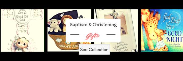 Baptism Gift Ideas Banner