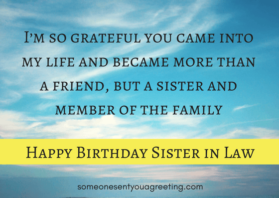 a sister as amazing as you deserves a special birthday