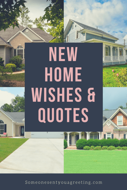 New Home Wishes Quotes Congratulations On Your New Home Someone Sent You A Greeting
