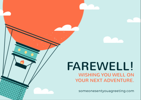 farewell wishes for a colleague