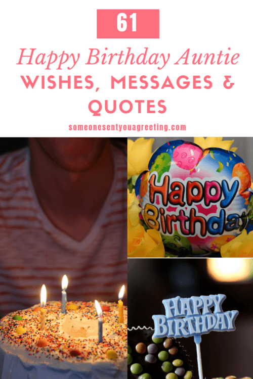 61 Awesome Happy Birthday Auntie Wishes, Messages and Quotes